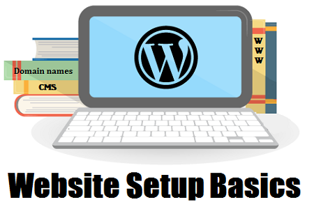 Wordpress Website Setup Basics